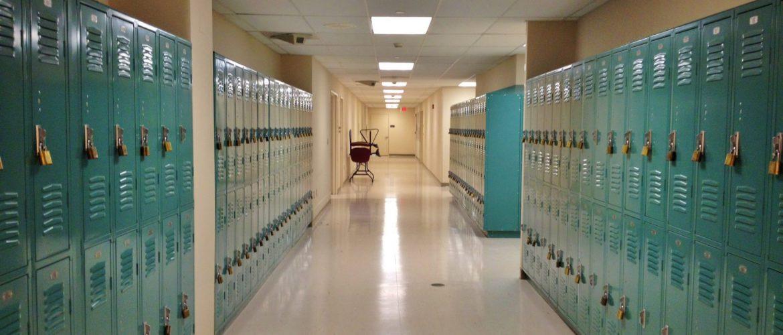 Pasillo colegio/instituto