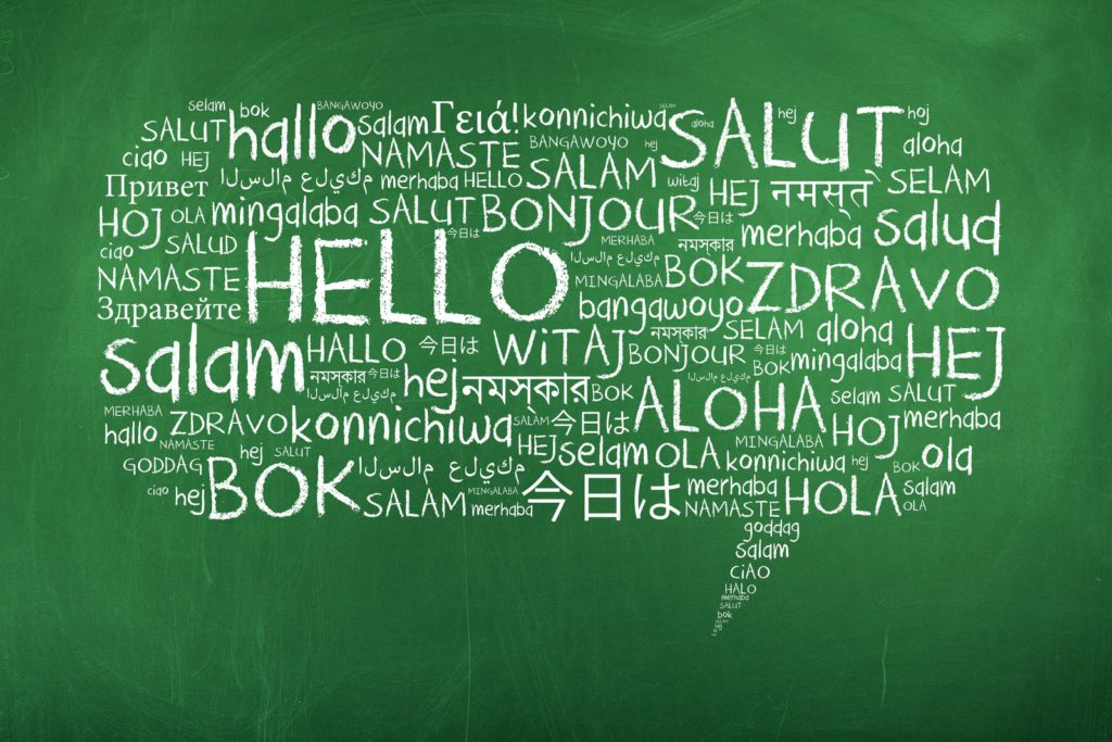 Pizarra idiomas