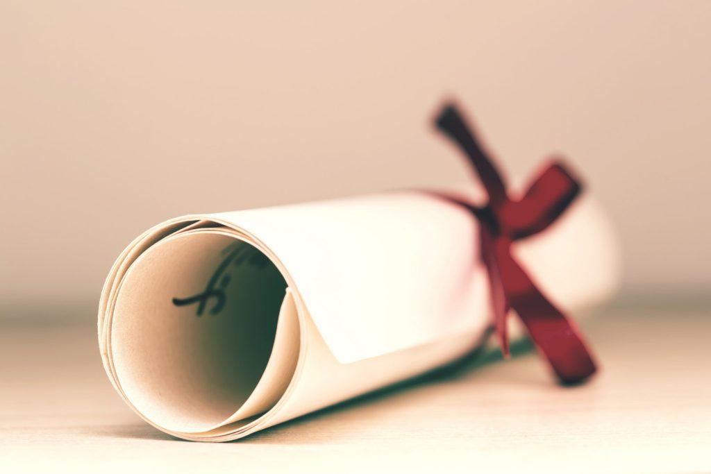 Imagen de diploma